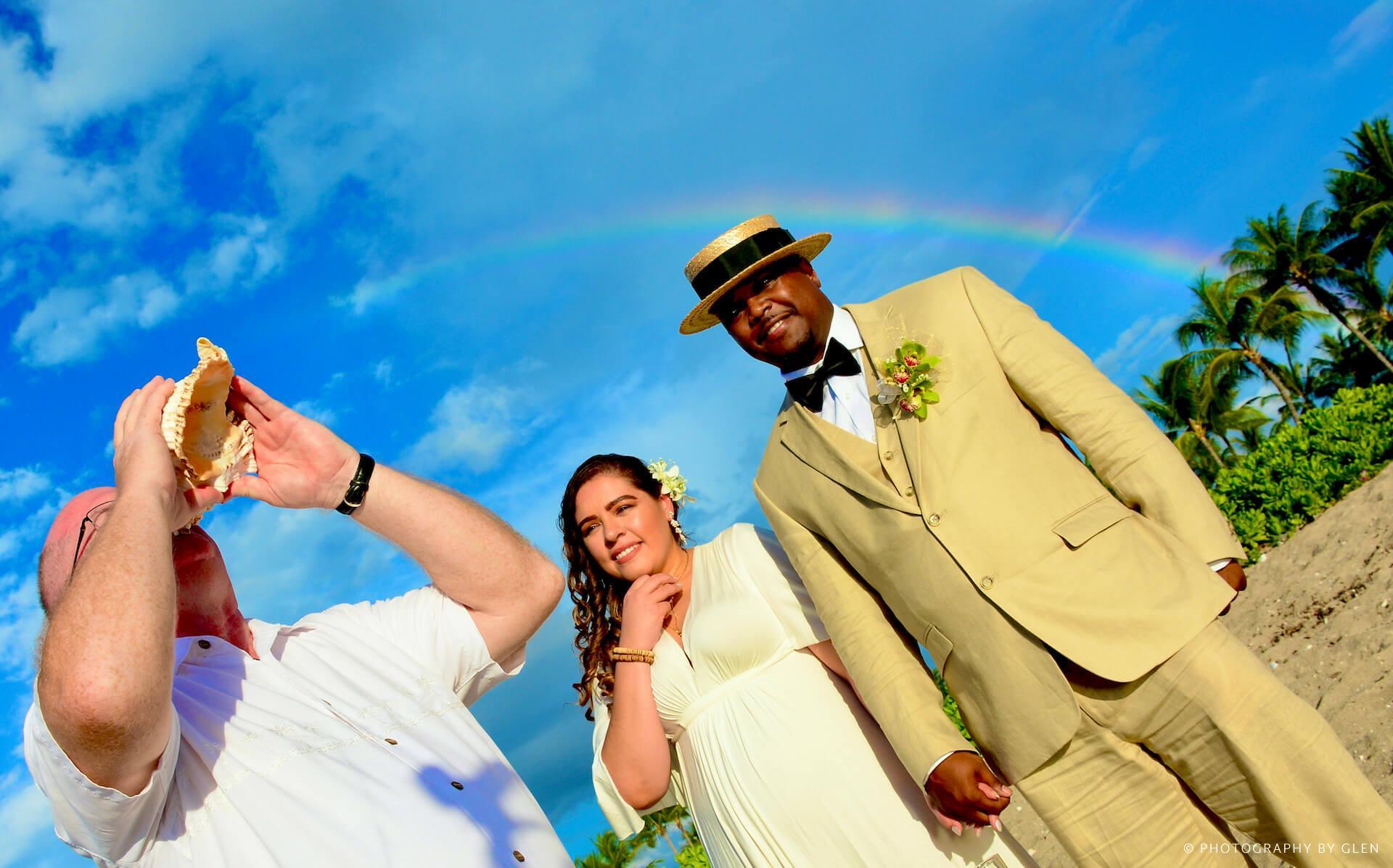 Kona Beach Wedding Photography